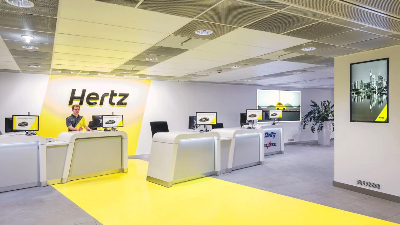 Hertz premiata per la soddisfazione dei suoi clienti in Nord America thumbnail