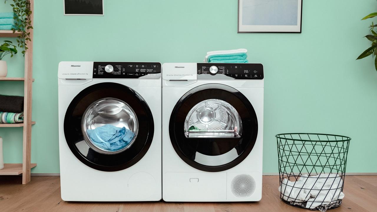 Hisense presenta due nuove linee di lavatrici e asciugatrici thumbnail