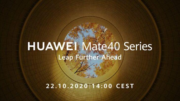 Huawei rivela la data di lancio del nuovo Mate 40: è il 22 Ottobre thumbnail