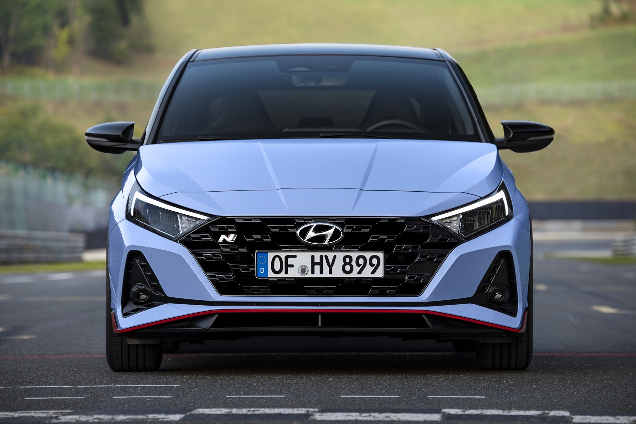 Hyundai i20 N 2021 frontale