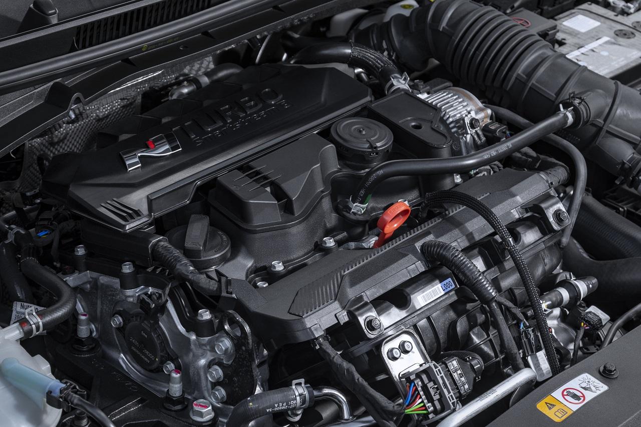 Hyundai i20 N 2021 motore