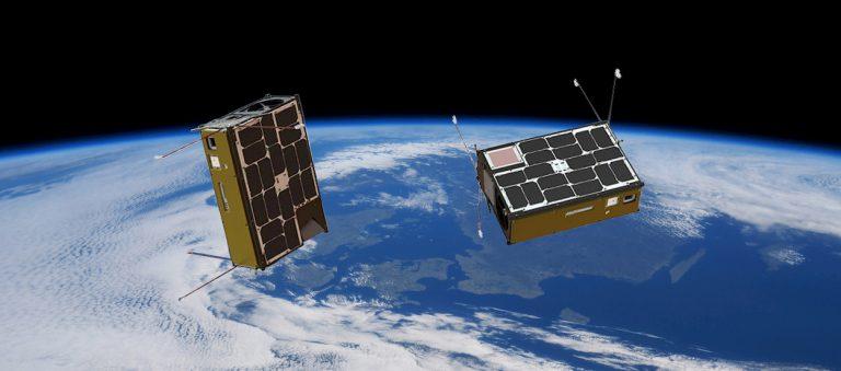 Intel satellite intelligenza artificiale orbita copertina