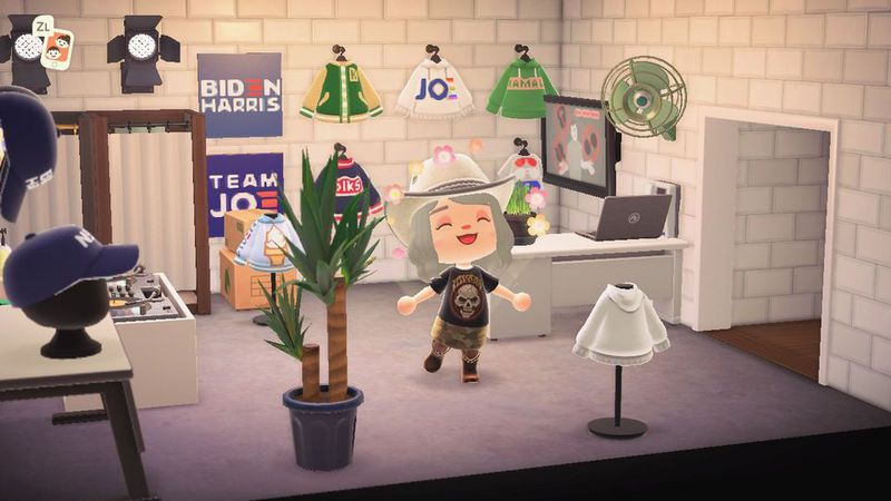 Joe Biden Animal Crossing
