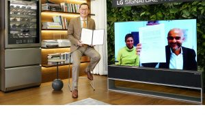 LG Signature e Molteni collaborano per lo sviluppo di progetti futuri  Le due aziende hanno annunciato una nuova partnership