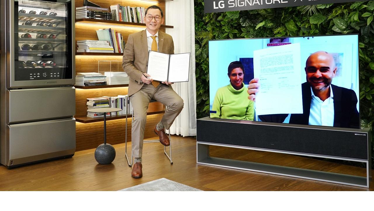 LG Signature e Molteni collaborano per lo sviluppo di progetti futuri thumbnail