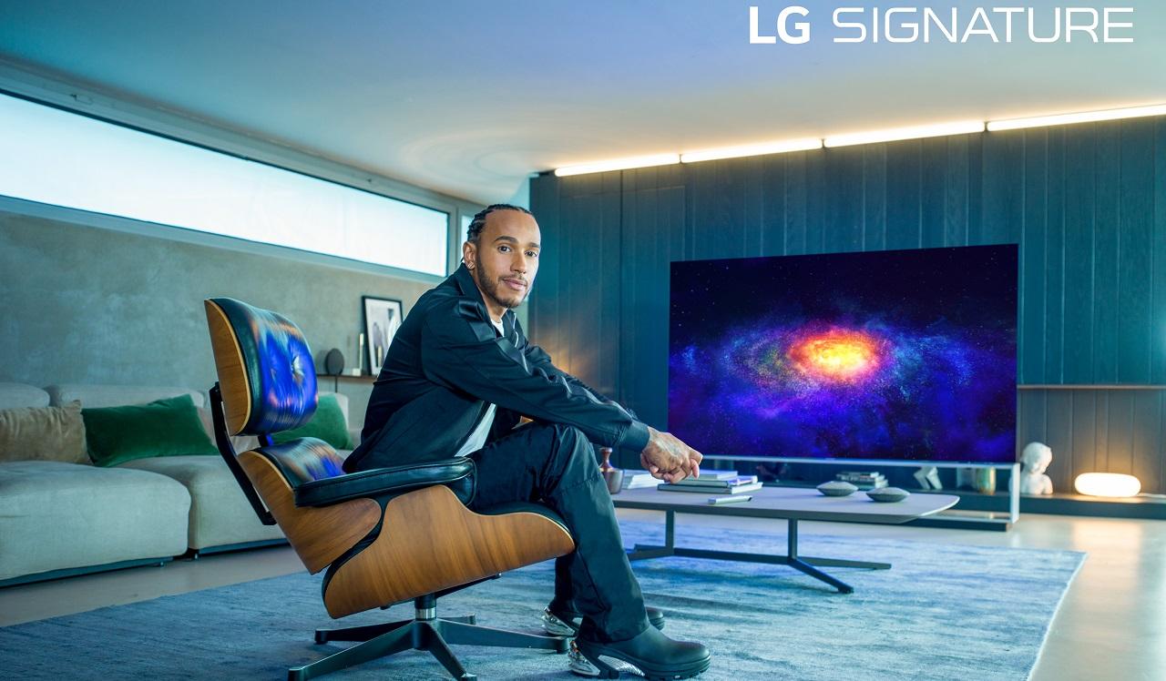 Lewis Hamilton è il nuovo Global Ambassador di LG SIGNATURE thumbnail
