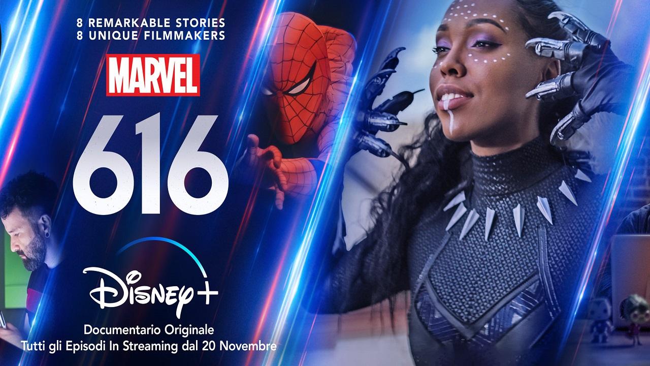 Disponibile il primo trailer di Marvel 616, la docuserie antologica di Disney thumbnail