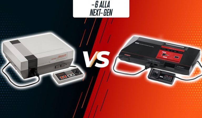 -6: NES vs Sega Master System (1983-1987)