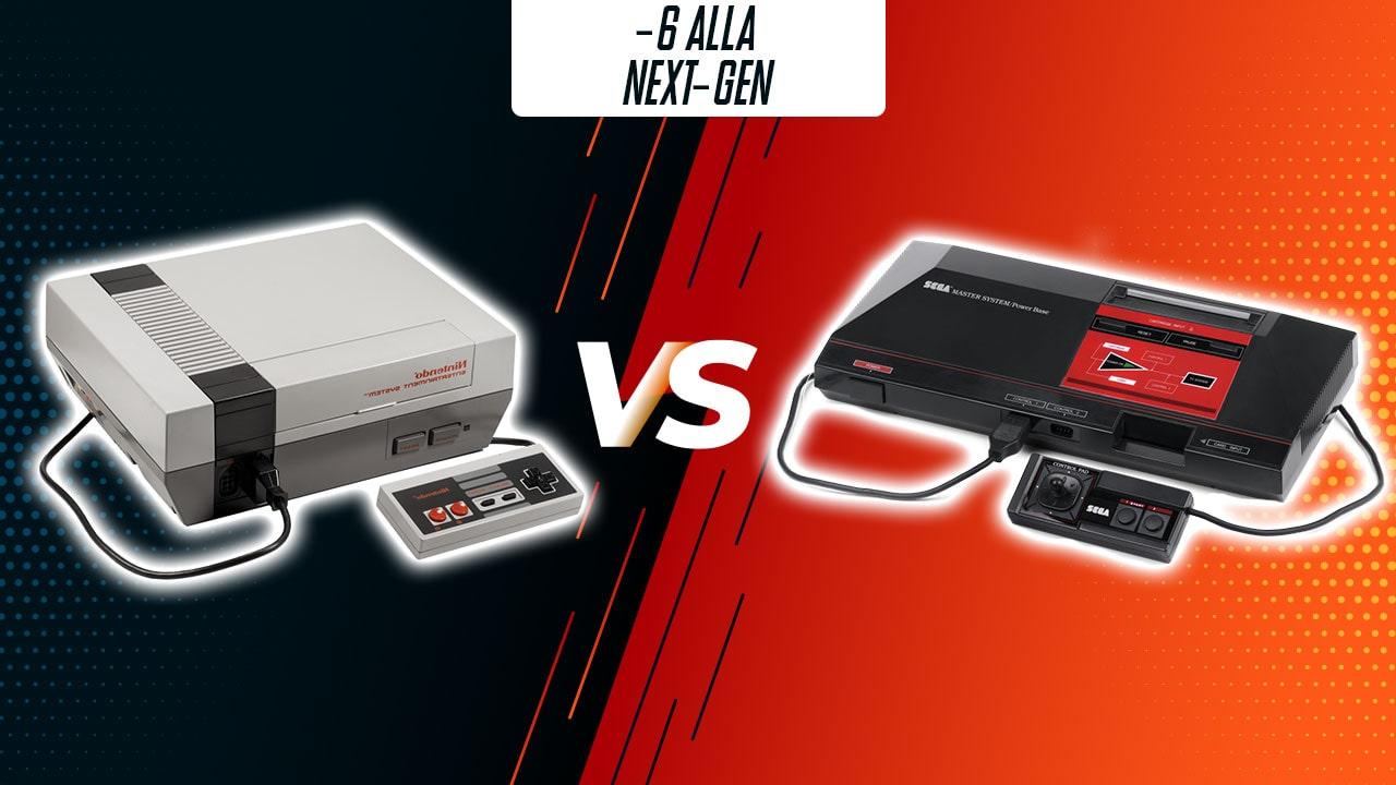 -6: NES vs Sega Master System (1983-1987) thumbnail