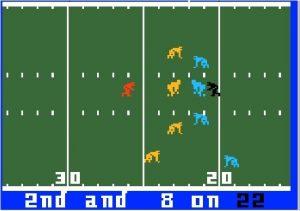 NFL Football Intellivision