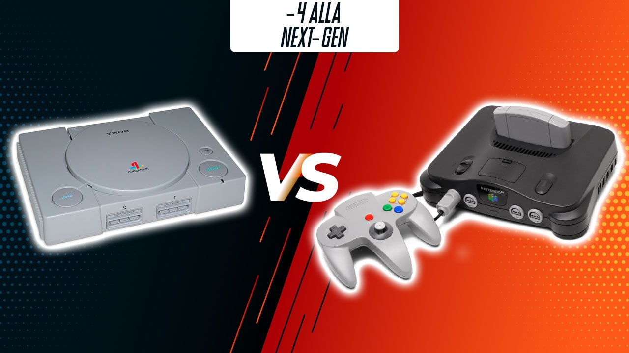 -4: PlayStation vs Nintendo 64 thumbnail
