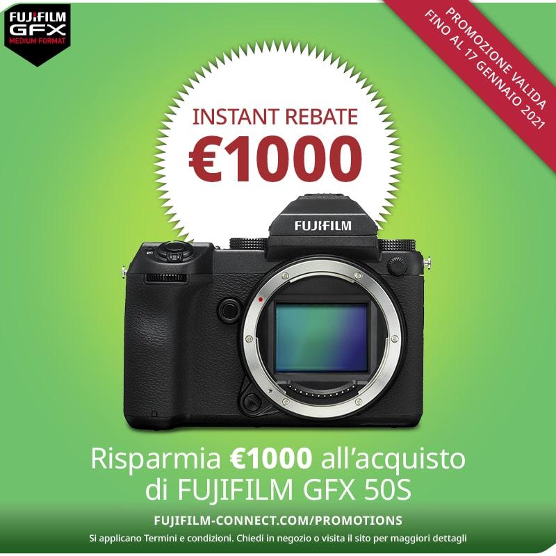 Offerta fujifilm GFX-50S