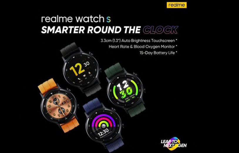 Realme Watch S è prossimo al suo debutto mondiale thumbnail