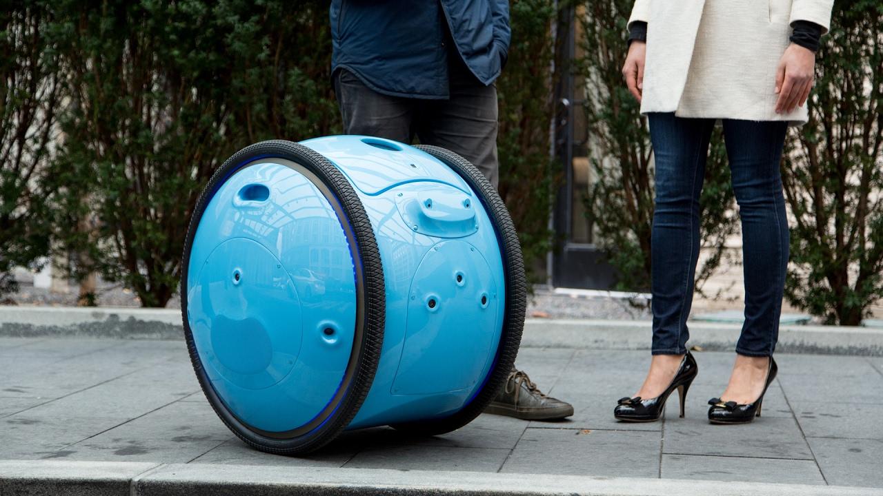 Il robot Gita di Piaggio Fast Forward premiato agli Innovation by Design 2020 thumbnail