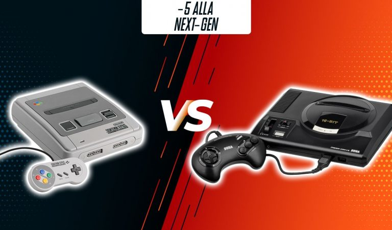 -5: Super Nintendo vs Sega Mega Drive (1987-1993)
