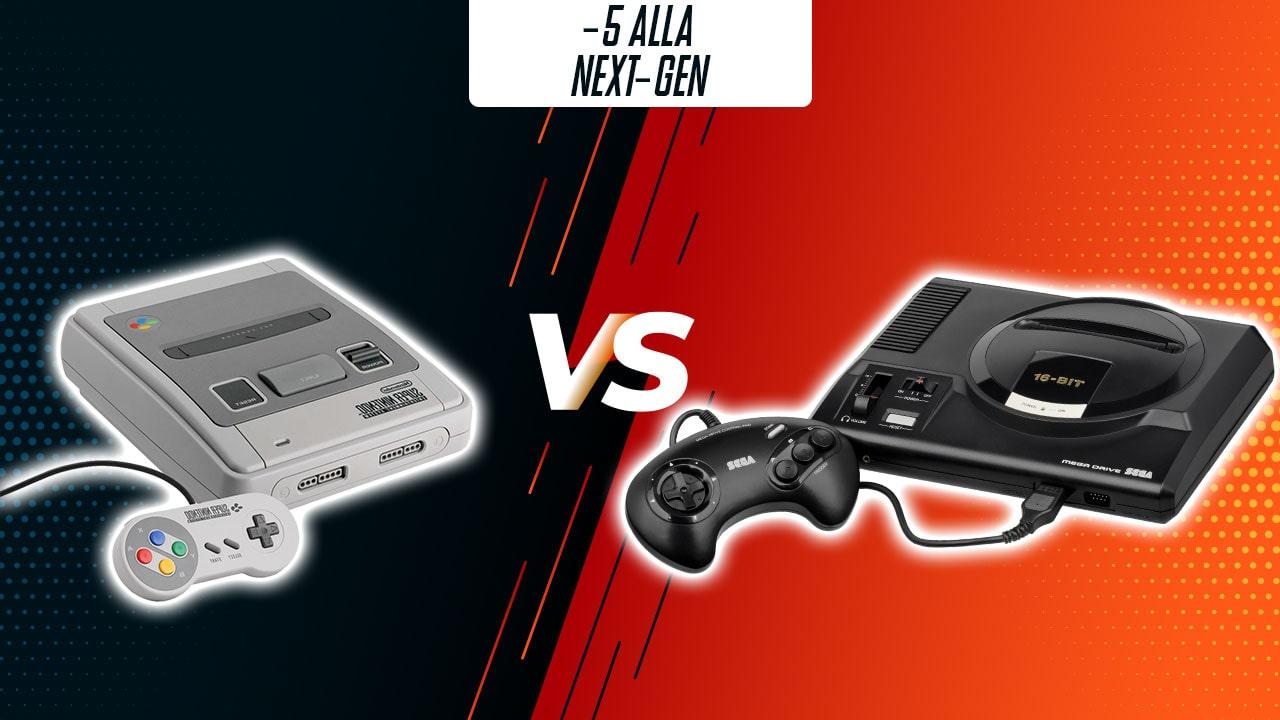 -5: Super Nintendo vs Sega Mega Drive (1987-1993) thumbnail