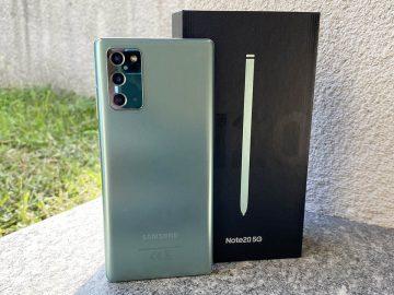 Samsung Galaxy Note 20 recensione