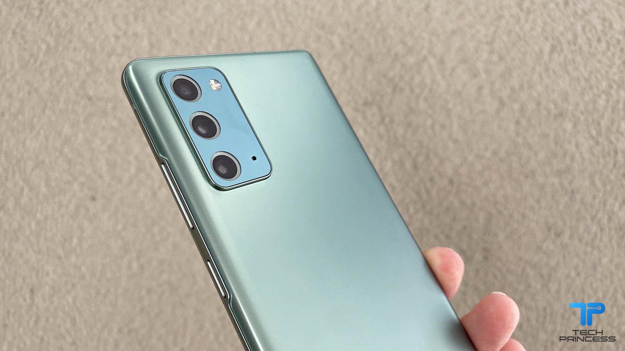 Samsung Galaxy Note 20 recensione fotocamera