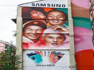 Samsung murale Milano