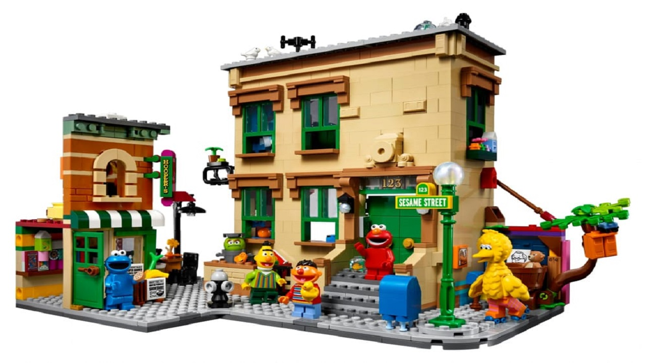 123 Sesame Street prende vita grazie al nuovo set LEGO Ideas thumbnail