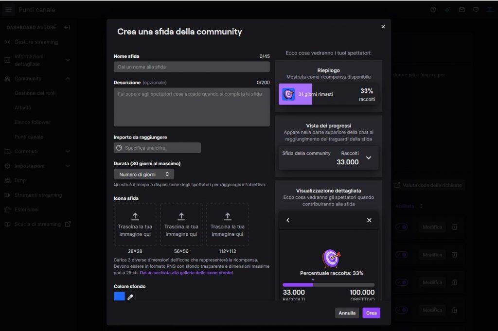 Sfida community twitch