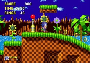 Sonic mega drive