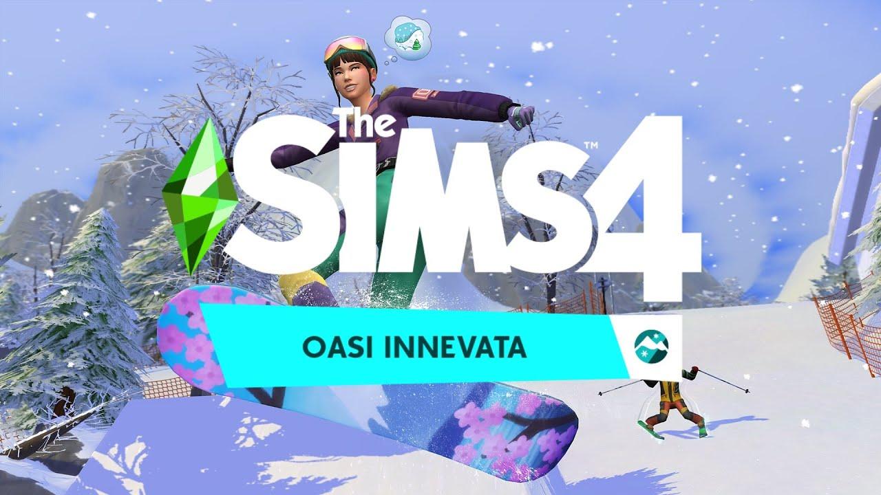 Annunciata la nuova espansione di The Sims 4, Oasi Innevata thumbnail
