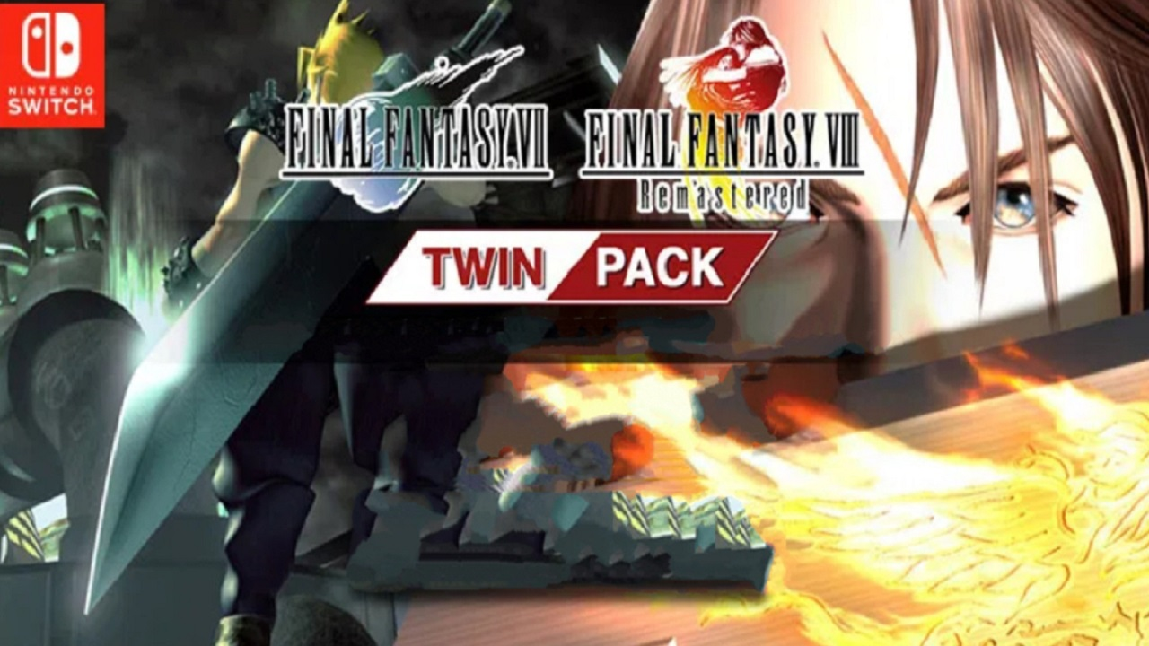 Il Twin Pack con Final Fantasy VII originale e Final Fantasy VIII Remastered in arrivo su Switch thumbnail