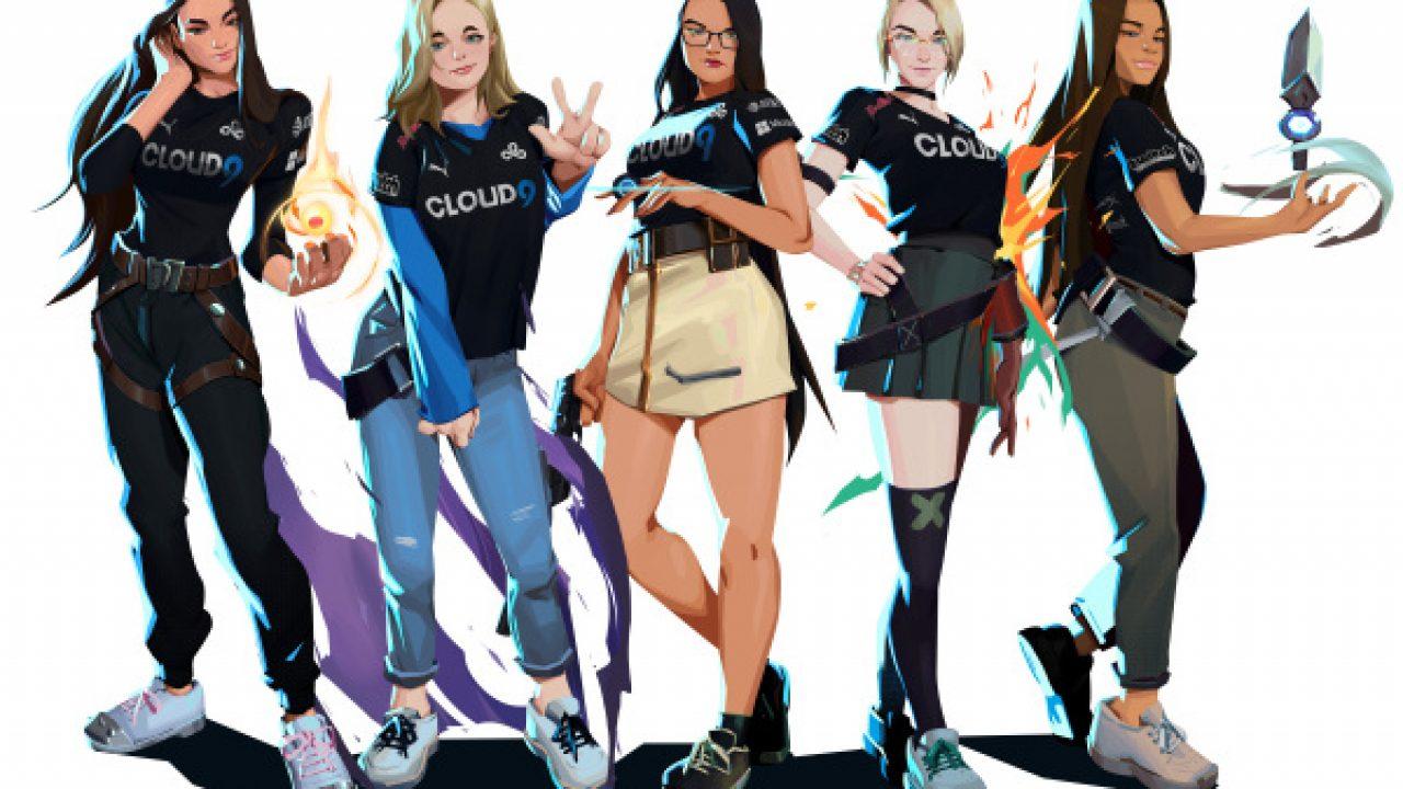 Valorant si tinge di rosa: Cloud9 annuncia il nuovo team tutto al femminile thumbnail