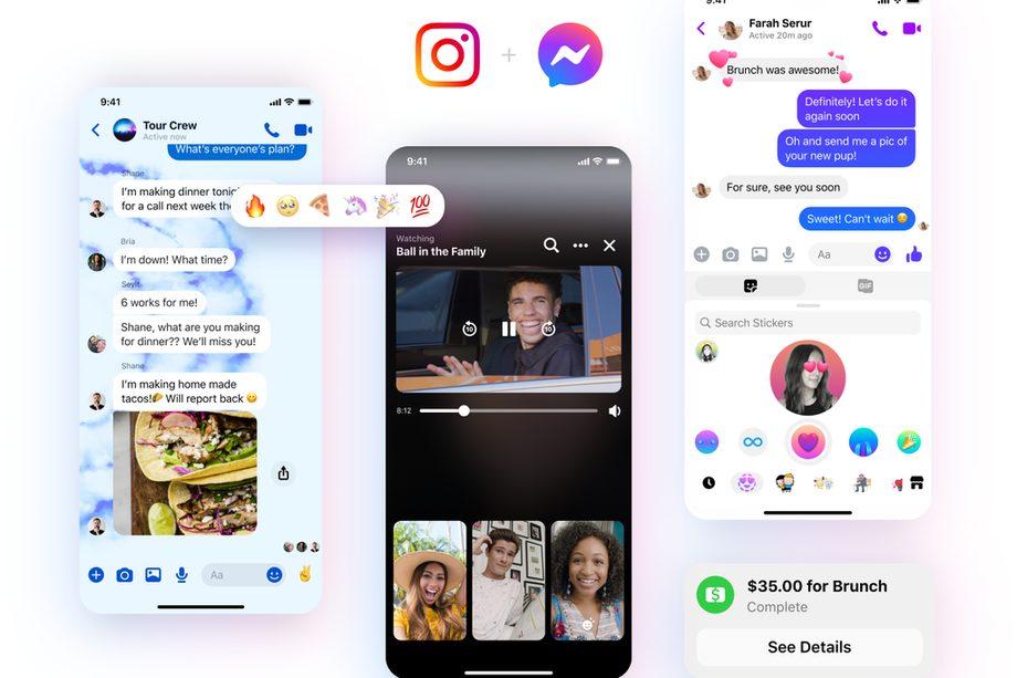Messenger verso la fusione con Instagram: nuovo logo e nuove funzionalità thumbnail