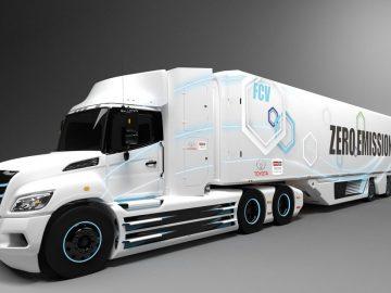 auto a idrogeno camion toyota