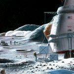 base lunare Space Force copertina