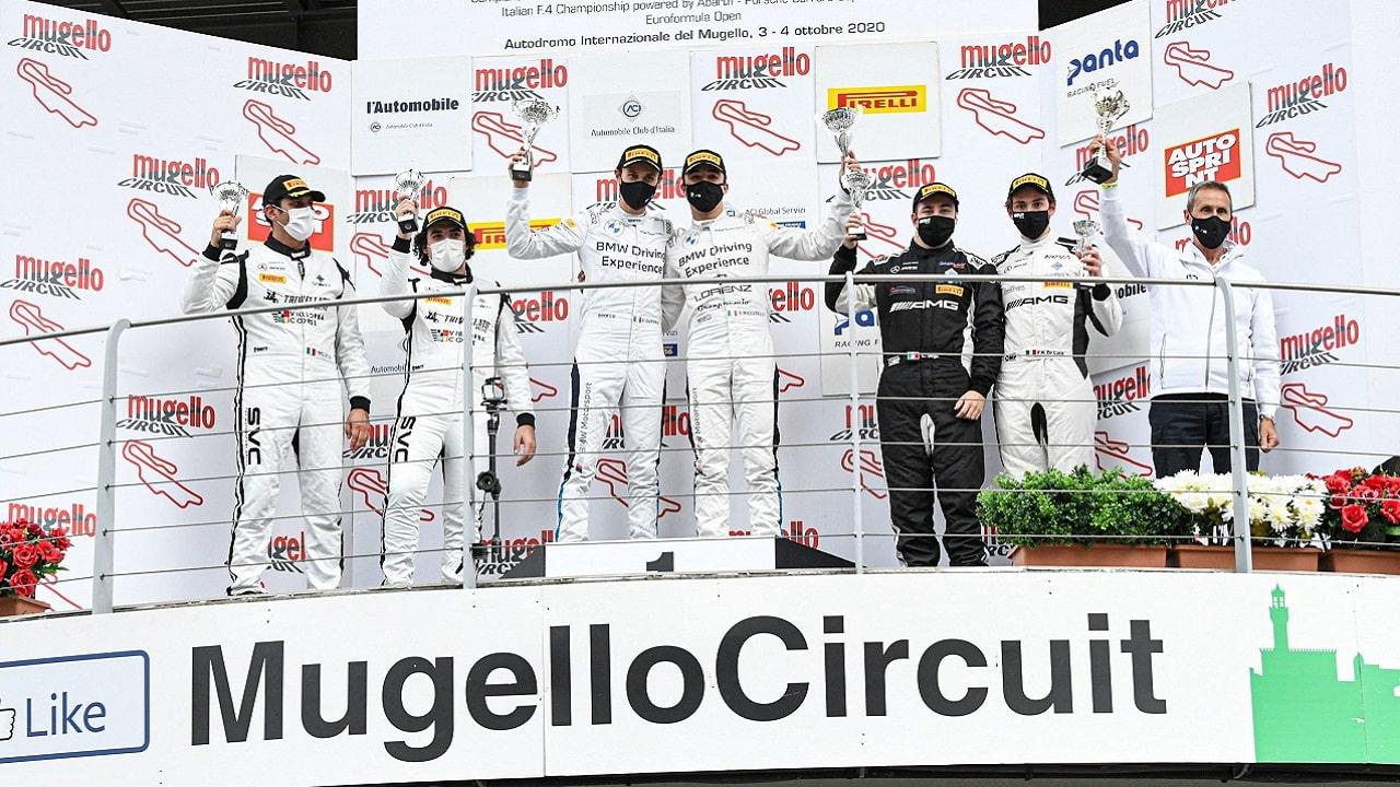 BMW Team GT4 vince al Mugello thumbnail