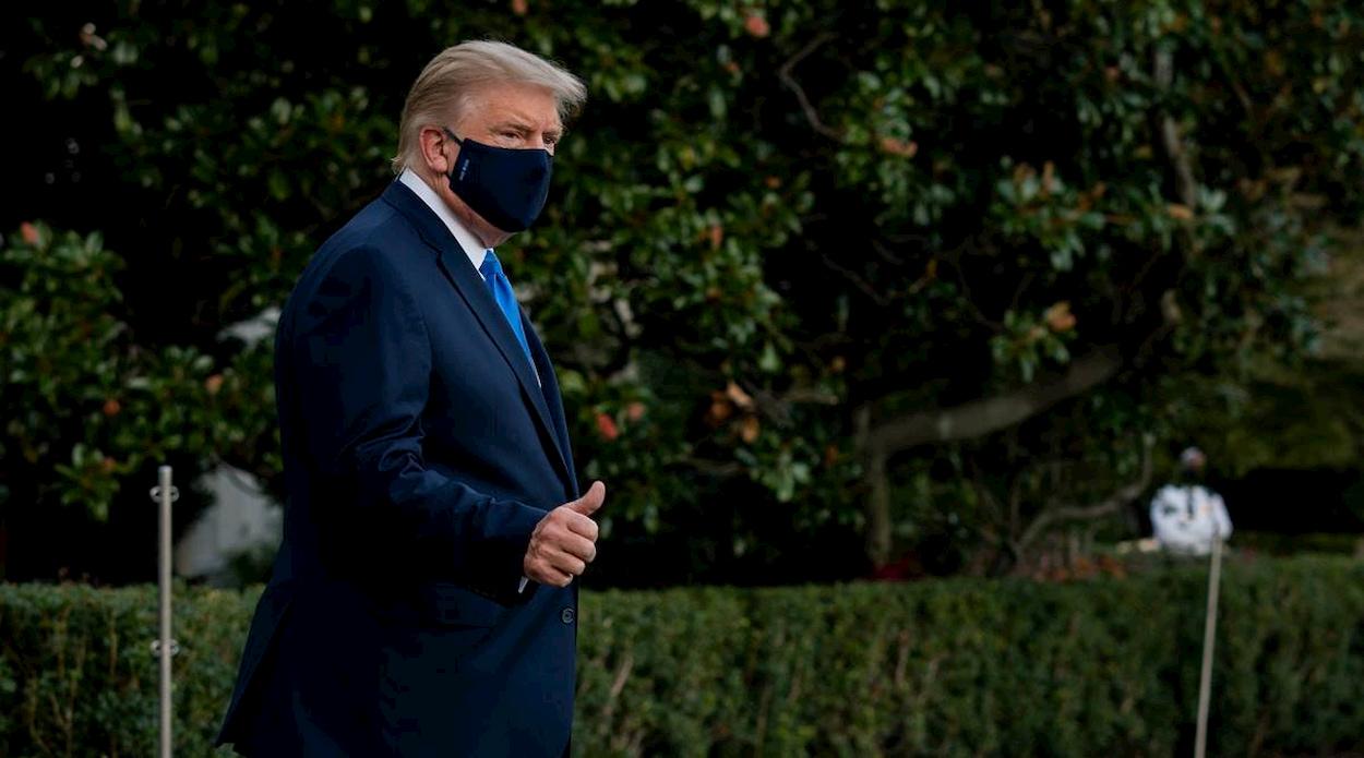 """""""Sono immune al coronavirus"""": Twitter segnala come falso il tweet di Trump thumbnail"""