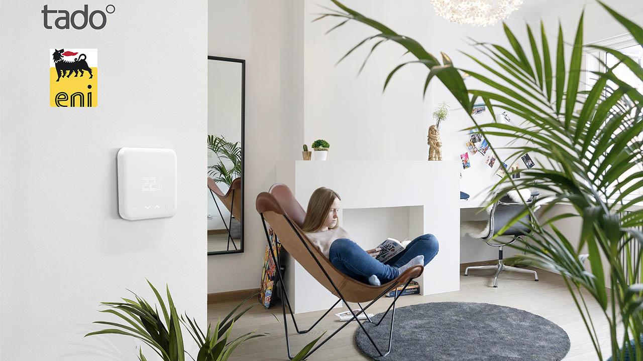 Eni gas e luce sceglie tado° per la sua nuova offerta Smart Home thumbnail