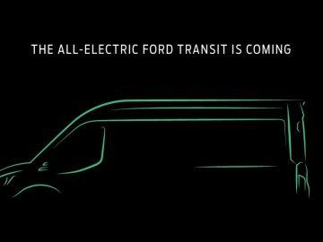 ford elettrica transit
