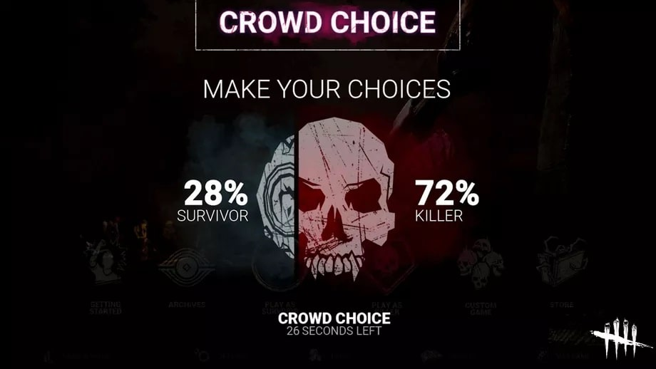 google stadia crowd choice dead by daylight