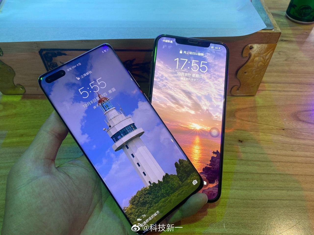Spuntano le foto di iPhone 12 e Huawei Mate 40 thumbnail