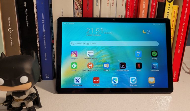Recensione Huawei MatePad T 10S: il tablet ideale per lo streaming