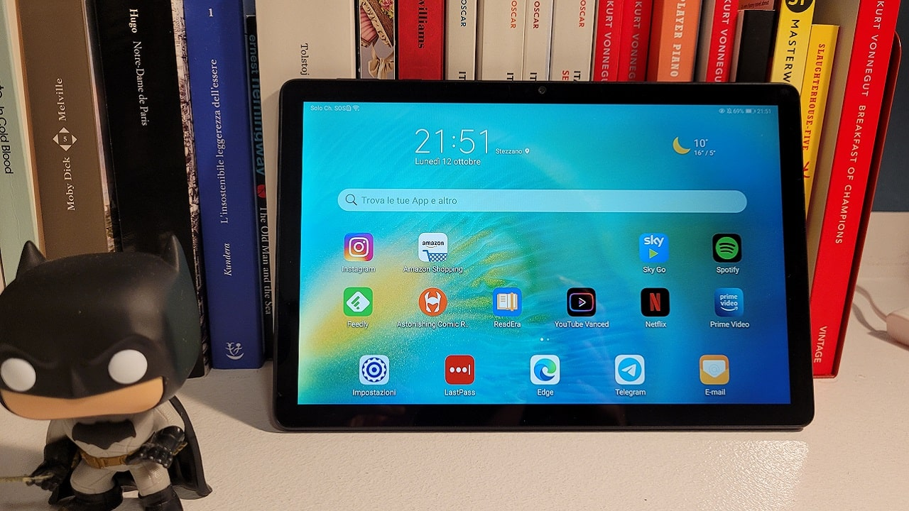 Recensione Huawei MatePad T 10S: il tablet ideale per lo streaming thumbnail