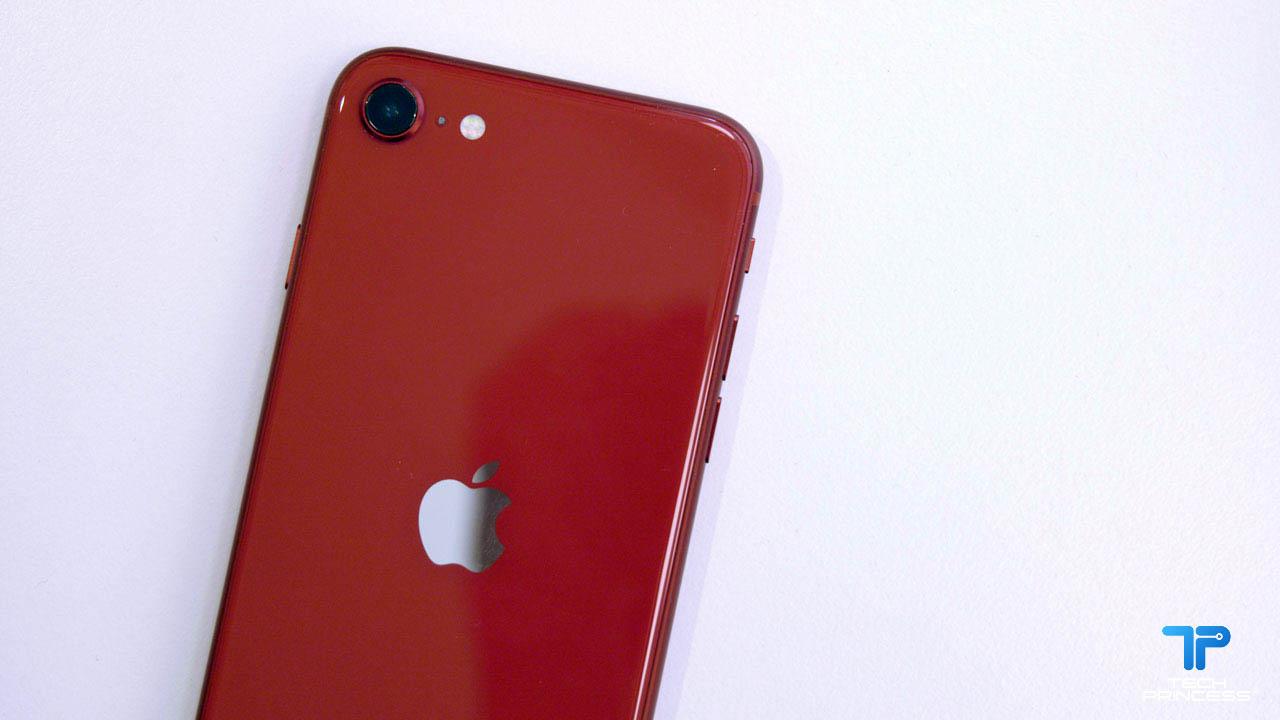 iPhone SE 2020 fotocamera