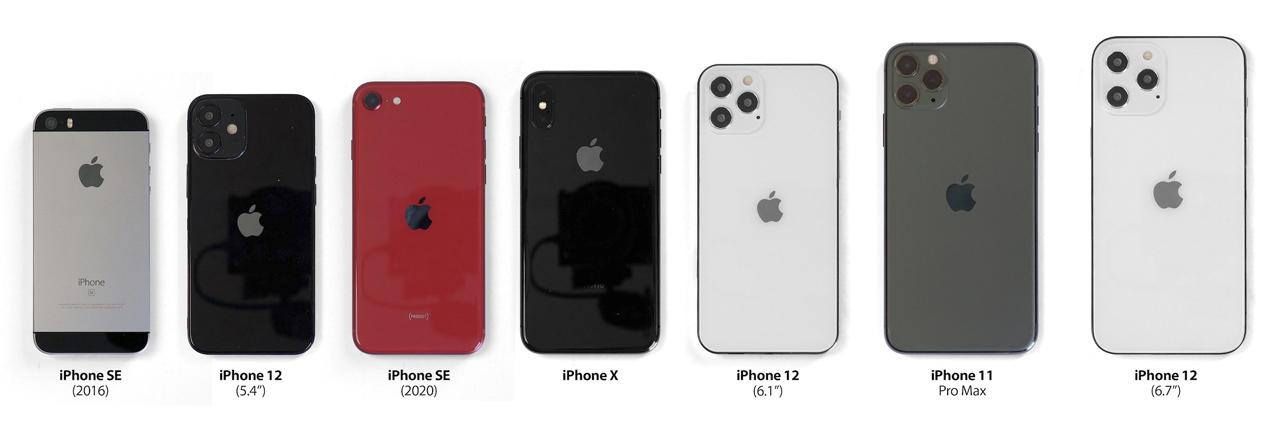 iphone 12 anticipazioni dimensioni