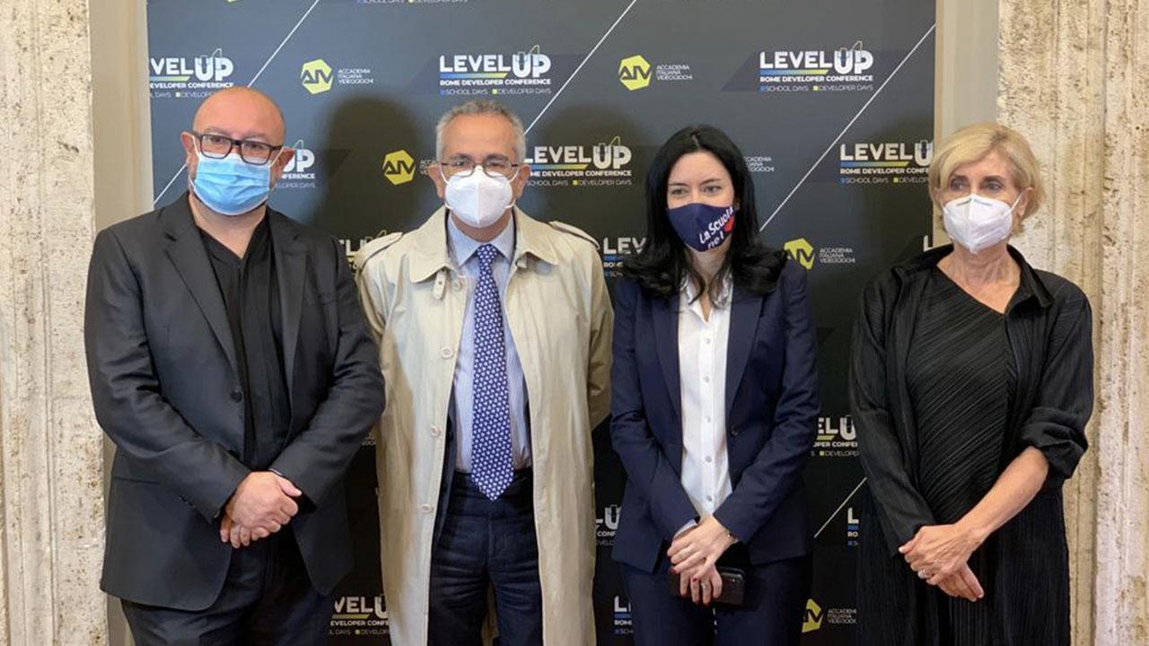 Level Up, l'evento italiano di formazione dedicato ai videogiochi thumbnail