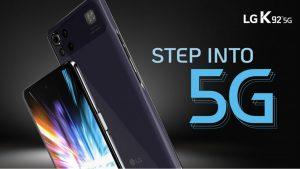 LG K92 5G debutta negli Stati Uniti a meno di $400  Si tratta di uno degli smartphone più economici a supportare il 5G: negli Stati Uniti sarà venduto a partire da $359