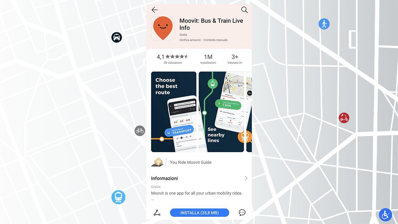 L'applicazione Moovit arriva su HUAWEI AppGallery thumbnail