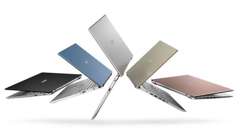nuovi notebook acer aspire swift