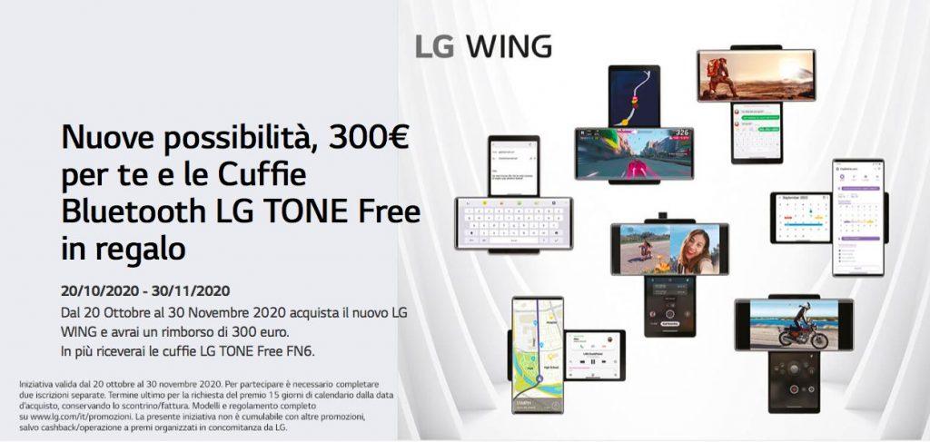 offerta LG Wing