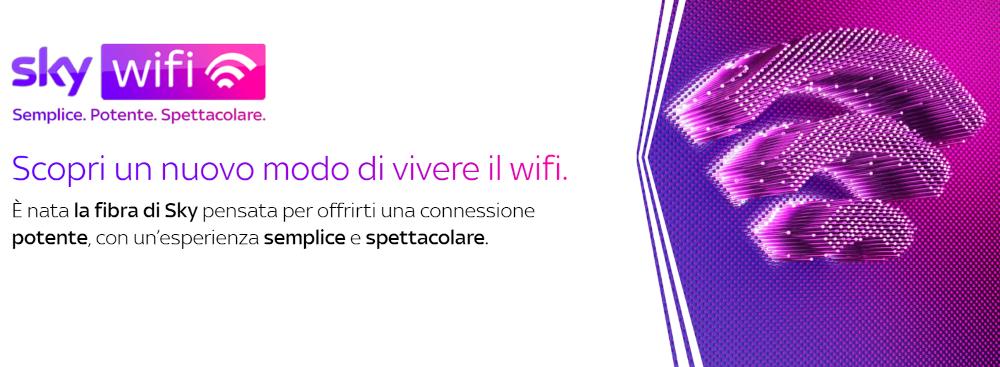 offerte adsl fibra Sky WiFi
