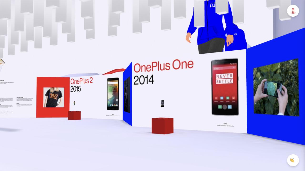 Il mondo interattivo virtuale di OnePlus thumbnail