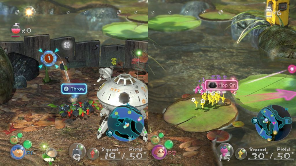 Pikmin 3 deluxe multiplayer